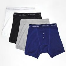 MENS CALVIN KLEIN BUTTON FLY BOXER SHORTS PANTS TRUNKS BRIEFS UNDERPANTS BOXERS