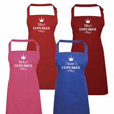 Personalised Ladies Cupcake  Kitchen Baking Apron  by Inspired Creative Design