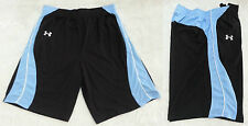 "*UA Under Armour Jersey 12"" Basketball Training Shorts Mens Black Blue L XL XXL"