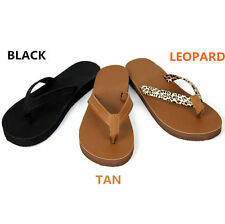 NEW Womens Summer Comfort Casual Thong Flat Flip Flops Sandals Slipper Shoes 140