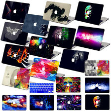 "Painted Hard Laptop Case+Keyboard Cover for Macbook Air 11""Pro 13""15""Retina 12"""