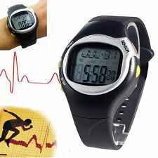 Sport Pulse Heart Rate Monitor Calories Counter Fitness Wrist Watch Black Gift