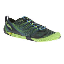 Merrell Vapour Glove Trail Mens Blue Running Trainers Pumps Sports Shoes