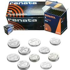 1x All Sizes Renata Watch Battery Swiss Made Silver Oxide Renata Batteries Cell