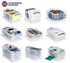 Really Useful Storage Boxes Genuine - Multiple Sizes - 0.14 Litre - 145 Litre