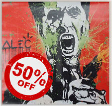 Scarface Red [60x60] ALEC Monopoly giclee canvas Modern urban street wall art