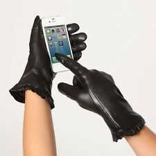 Warmen Touchscreen Nappa Leather Winter Gloves
