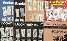 CROSS STITCH BOOKMARK LEAFLET/BOOK  (YOUR CHOICE)