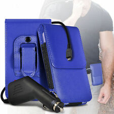 PU Leather Pouch Belt Holster & Car Charger For Samsung I9300I Galaxy S3 Neo