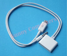 Micro USB to 30Pin 30P Dock Cable Adapter Cord With Audio For iPhone 5 5S 5C 8P