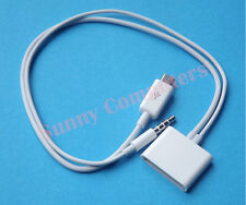 Micro USB to 30Pin 30P Dock Cable Adapter Cord With Audio For iPad 4 5 Air Mini