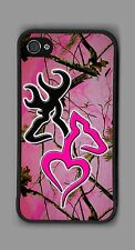 L@@K! Ultimate Pink Deer Heart camo cell phone or iPod case or wallet!