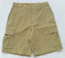 "*NEW Patagonia Men's Brown Stretch Corduroy Cargo Shorts 10"" Inseam Cotton 32"