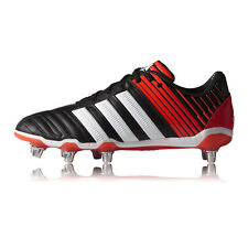 Adidas AdiPower Kakai SG Mens Rugby Synthetic Sports Rugby Boots Shoes