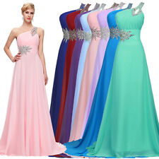 PLUS SIZE WEDDING DRESSES Evening Formal Gown Prom PARTY Bridesmaid Maxi Dress