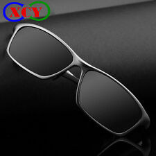Mens Polarized Sunglasses Driving Sports Glasses Aluminum Alloy Frame Sunglasses