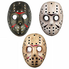 Horror Movie Friday the 13th Jason Voorhees Hockey Mask Vintage Halloween Cos.