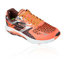 Skechers Go Run Ride 5 Mens Orange Black Running Road Sports Shoes Trainers
