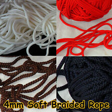 6mm Para Cord Braided Pull cord Survival Colour Rope Nylon Lanyard Utility Rope