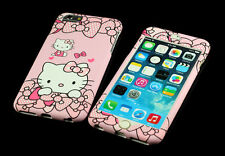 Pink Hello kitty Front + Back case cover Defender for Apple iPhone 6 6S 4.7""
