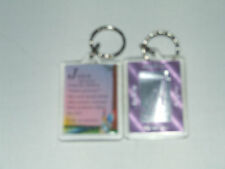 PERSONALISED KEYRING GIRLS NAMES BEGINNING WITH (K) INCLUDES THE MEANING OF NAME