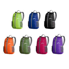 Ultra Lightweight Packable Backpack Hiking Daypack Camping Outdoor Travel Bag