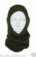 British Army headover use as Scarf / balaclava / cap comforter -  Unissued, New