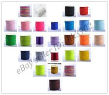 1Roll 100Yards 1MM Chinese Knot Macrame Bracelets Braided Nylon Cord Thread