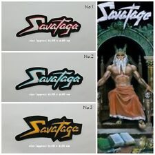 Savatage Embroidered Sew Iron On Patch Rock Band Heavy Metal Music Applique Logo