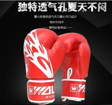 Boxing MMA Muay Thai Gloves Sparring Punch Bag Training Gloves Top leather 2016