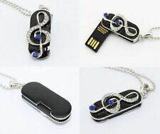 New Fashion Metal Music Usb Drive 4GB-32GB 2.0 usb memory stick flash pen drive