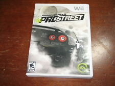 Need for Speed: Pro Street (Nintendo Wii) - Game and Box in Good Condition!