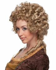 Marie Antoinette Victorian Queen Deluxe Quality Sepia Costume Wig Large Curls