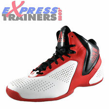 Adidas Next Level Speed 3 Mens Hi Top Basketball Trainers White Red Black