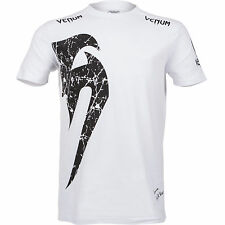 New Venum Giant Snake T Shirt - White/Black
