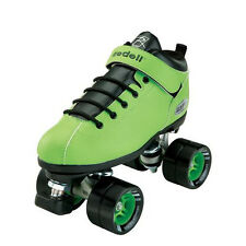 New Riedell Dart Green Skates Riedell