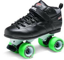 New Sure-Grip Rebel Magnesium Avenger Skates Black - Wheel choice Sure Grip