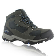 Hi-Tec Storm Womens Grey Blue Water Resistant Hiking Outdoors Shoes Boots
