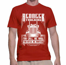 Shirt Redneck Trucking Mens T Funny Truck S Gift Dad Haul Humor Father Road Dust