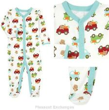NWT Gymboree 0 3 mos BRAND NEW BABY BEAVER Boys 1pc Footed Sleeper Romper TWIN