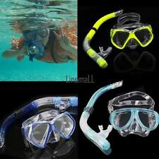 New Scuba Gear Dry Snorkel Set Dive Mask Snorkeling Diving Equipment Pro Adult