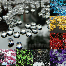 1000pcs 4.5mm Crystals Diamond Table Confetti Wedding Party Decoration