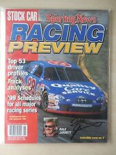Dale Jarrett Autographed Sporting News 1999 Racing Preview