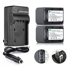 NP-FH70 NP-FP70 Battery + Charger for Sony DCR-DVD650 DVD108 SR47 HDR-CX100 SR11