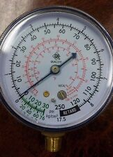 TWO 134L Manifold Replacement Refrigerant Gauges