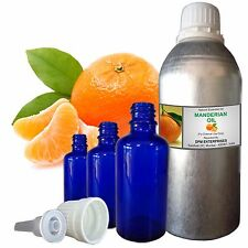 MANDARIN OIL 100% Pure Natural Essential Oil, Therapeutic Undiluted 5ml to 100ml