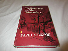 The Unitarians and Universalists Denominations in America Hardcover Robinson HB