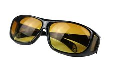 Outdoor Night Vision Driving Fit Over Wrap Around Sunglasses Goggle Protection