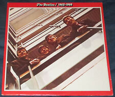 The Beatles Red Album 1962 - 1966 1976 Issue 2 LP Capitol NICE!!!!!!!