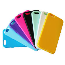 "Ultra Thin Slim Soft Glossy Back Cover Case for Apple iPhone 6 Plus 5.5"" TPU 016"